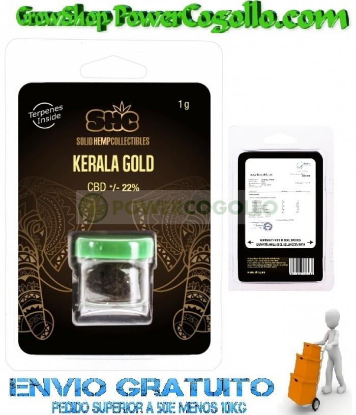 CBD Hash Kerala Gold 22% (SHC)