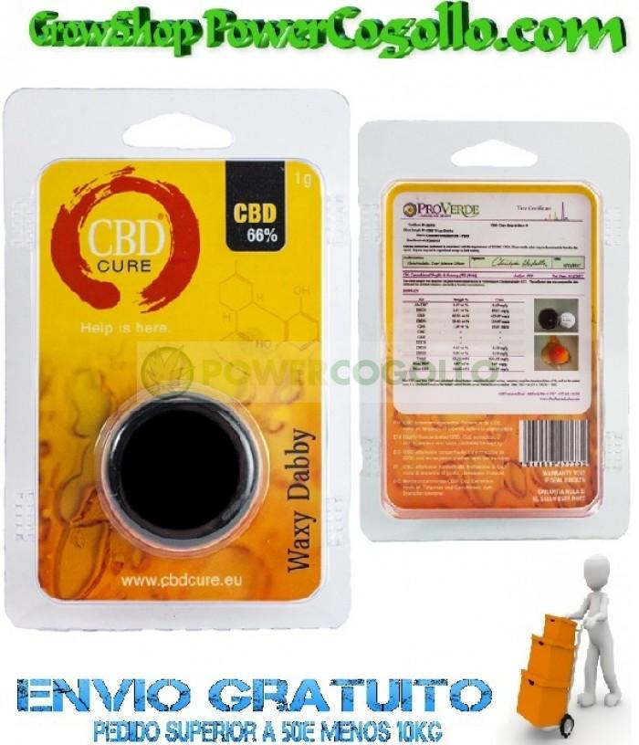 Waxy Dabby Pure CBD 66% (CBD Cure)
