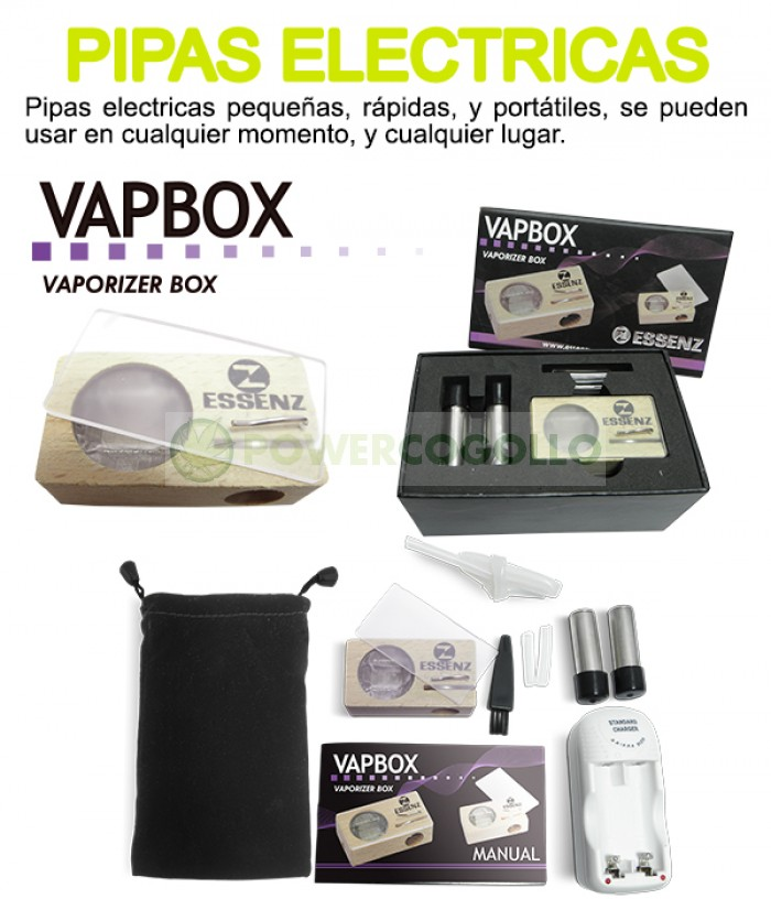 Vaporizador VapBox Essenz