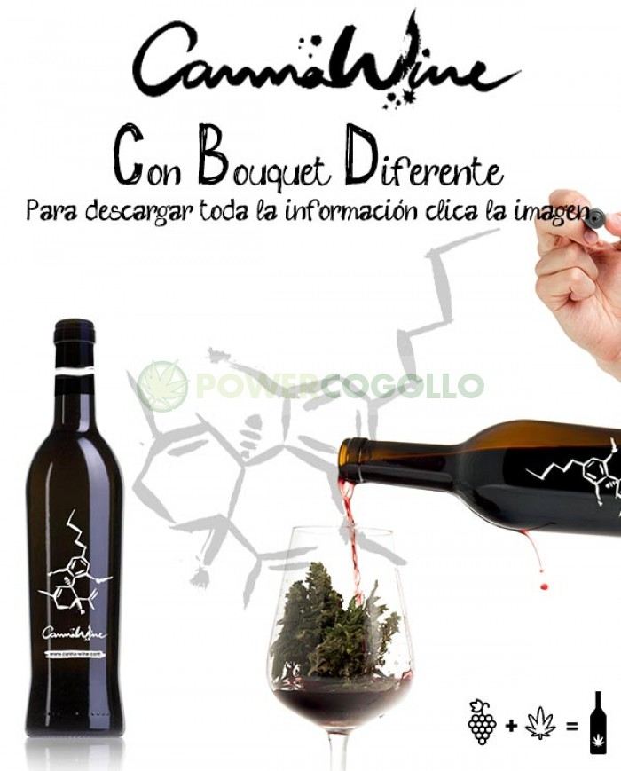 CannaWine Vino con CBD 500ml