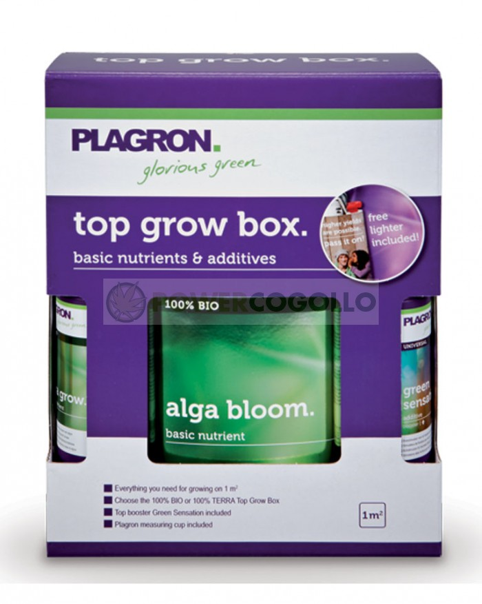 Pack de Fertilizantes Top Grow Box 100% Bio