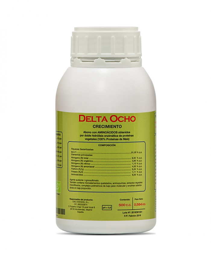 Delta 8 Cannabiogen fertilizante