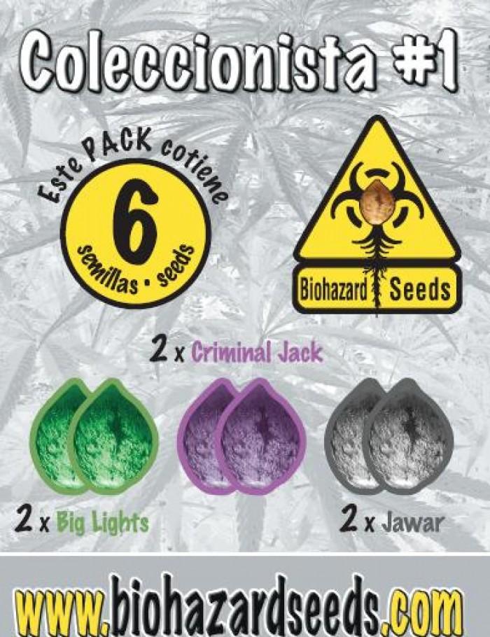 Biohazard Seeds Semilla marihuana feminizada Coleccionista #1