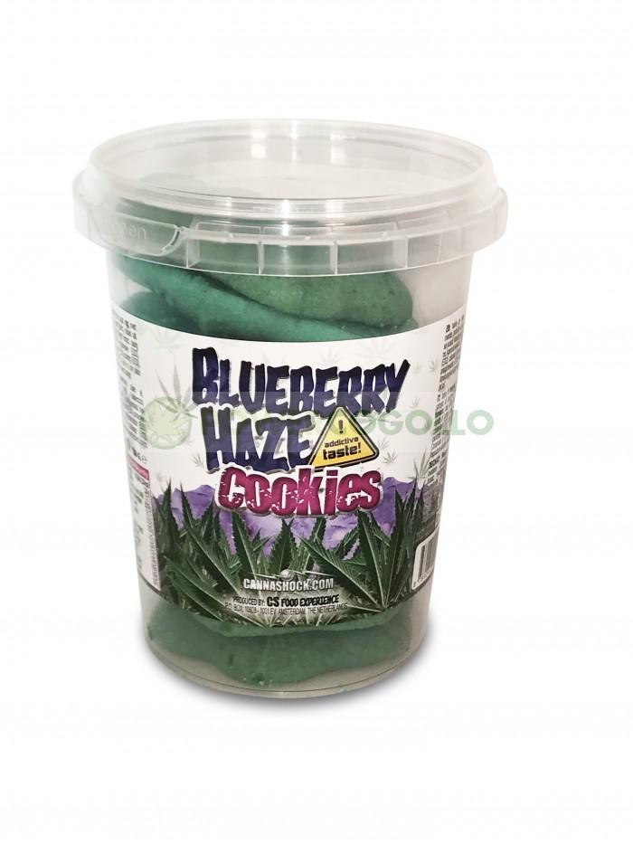 alletas con Marihuana Blueberry Haze CannaCookies