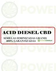 ACID DIESEL CBD FEMINIZADA GRANEL