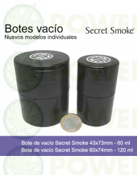 Bote de vacío Secret Smoke 60ml