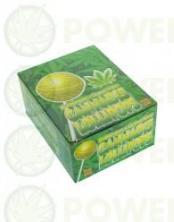 C - Lollipops con chicle Lemon Haze
