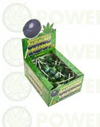 ChupaChup de Marihuana con chicle Blueberry