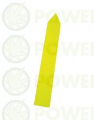 Etiquetas Picar Amarillas 1,6 x 12cm