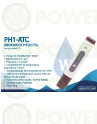 Medidor pH PH1 ATC (Wassertech)