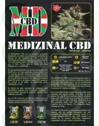 Medizinal CBD Feminizada (Genehetik Seeds)