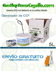 Nature Generador de CO2 5Lt