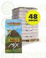 Palet Complete Mix 50 LT Sustrato Top Crop (48 Sacos)