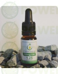 ACEITE DE CBD MEDIO (1,25%) CANNAMOR (10ML)