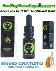 Aceite con CBD 10% (CBDCure)