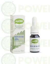 Aceite CBD 10% Sublingual 10 ml MyCBD