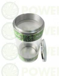 Polen Shaker Aluminio Transparente (Extracción en Seco 100 micras)