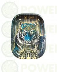 Bandeja Metálica modelo Tiger para liar