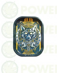 Bandeja Metálica modelo Wolf para liar