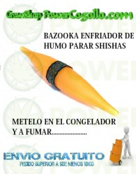 BAZOOKA ENFRIADOR HUMO SHISHA