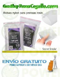 Bolsas Nylon Rosin-Tech (Secret Smoke)