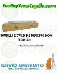 BOMBILLA 630W LEC D.E SOLUX PRO 3000K