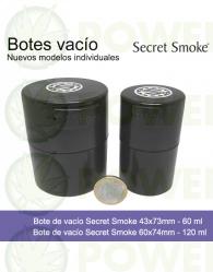Bote de vacío Secret Smoke 60ml