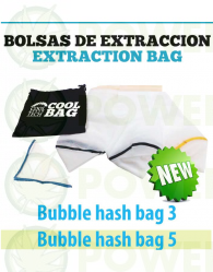 Bolsas de Extracción 3 Mallas Bubble Hash Bag (Todo Malla)