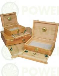 Caja 00 Box Curado (Madera Cedro) Pequeña