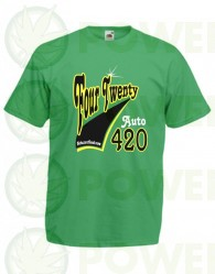 Camiseta Auto 4:20 Biohazard Seeds