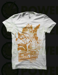 Camiseta The Empire Smokes de Smonkey - Marihuana t-shirt