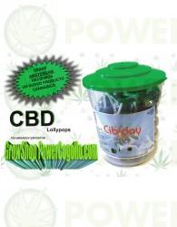 Chupa Chups de Marihuana con CBD (Cannashock)