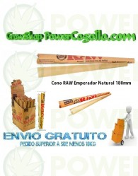 Cono RAW Emperador Natural 180mm