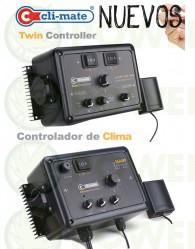 Controlador de clima Velocidad e histéresis 16a CLI-MATE