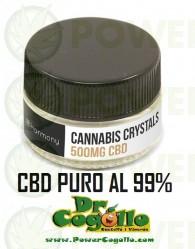 Cristales puros de CBD 99% 500mg