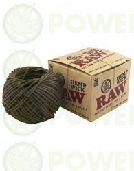 Cuerda de Cáñamo Raw Hemp Wick-30.5 mt