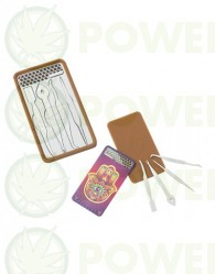 Tarjeta Grinder Dabit Card Vsyndicate - Modelo Hamsa (Dabber portátil)