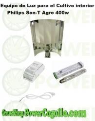 Kit 400w Philips Son-T-Agro (Crecimiento / Floración)