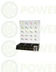Expositor para 20 Tubos de Almacenamiento LED