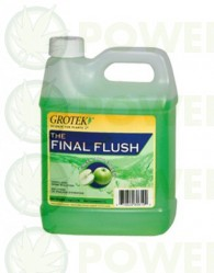 Final Flush sabor MANZANA (Grotek)