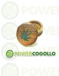 Grinder de Madera Hoja Marihuana