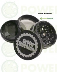 Grinder Green Machine 4 Partes Tamiz 55 mm