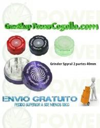 Grinder Spyral 2 partes 40mm