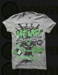 Camiseta Hemp Attack