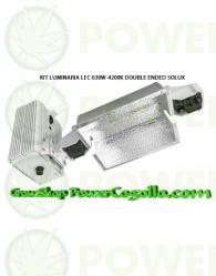 KIT LUMINARIA LEC 630W-4200K DOUBLE ENDED SOLUX