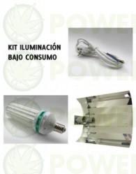 Kit 250W Agrolite CFL Crecimiento (bajo consumo)