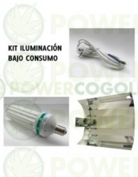 Kit Agrolite 200w CFL + Reflector Stucco