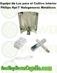 Kit 250w Philips HPI-T Plus Halogenuros Metálicos (Crecimiento)