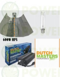 KIT 600W DUTCH MASTERS ELECTRONICO REGULABLE