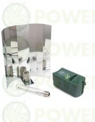 Kit 600W VDL Sunmaster Dual con reflector liso par el cultivo interior de Marihuana Los mejores Equipos de Iluminación de 600w para el Cultivo Indoor más Baratos  Kit 600W VDL Sunmaster Dual liso Este equipo de luz VDL Sunmaster es perfecto para crecimien